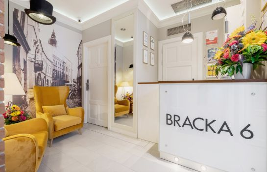 Réception Bracka 6 Apartments