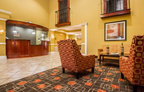 Lobby Sleep Inn & Suites Berwick-Morgan City