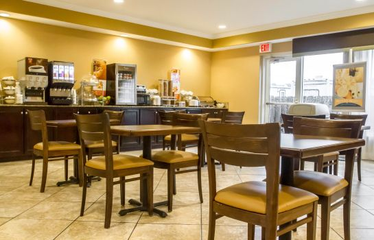 Restaurante Sleep Inn & Suites Berwick-Morgan City