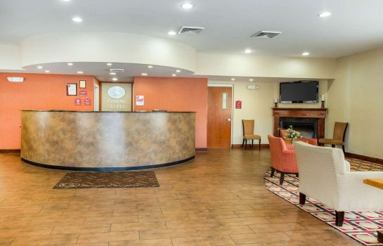 Lobby Comfort Suites Golden Isles Gateway