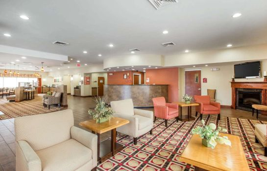 Hall de l'hôtel Comfort Suites Golden Isles Gateway