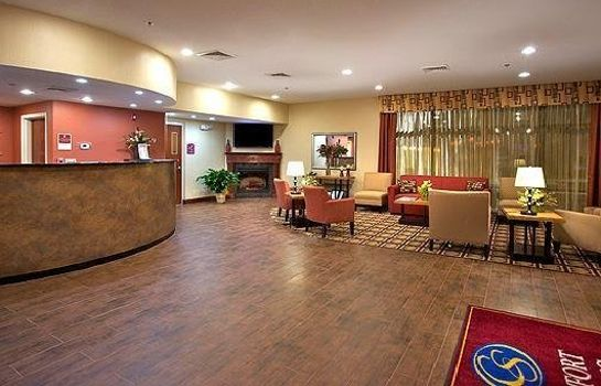 Hol hotelowy Comfort Suites Golden Isles Gateway