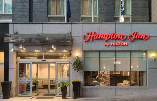 Buitenaanzicht Hampton Inn Manhattan-Times Square South