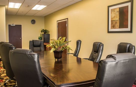 Conference room Comfort Suites East Broad at 270
