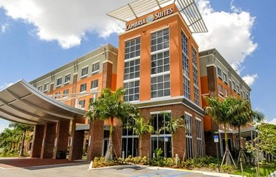 Buitenaanzicht Airport South & Cruise Port Cambria hotel & suites Ft Lauderdale