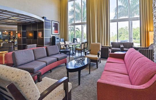Hol hotelowy Airport South & Cruise Port Cambria hotel & suites Ft Lauderdale