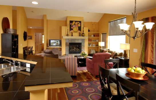 Hol hotelowy GRAND TARGHEE RESORT VACATION RENTALS