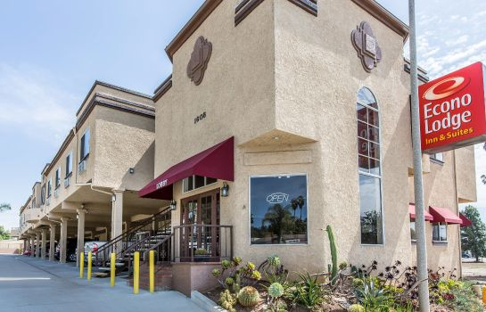 Vista esterna Econo Lodge Inn & Suites Fallbrook Downtown