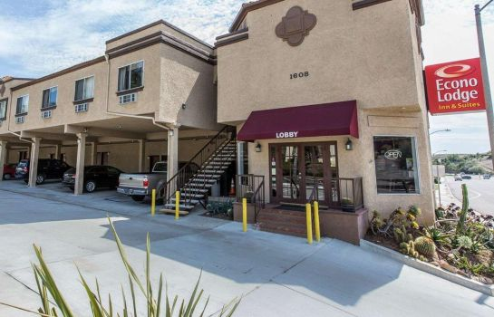 Buitenaanzicht Econo Lodge Inn and Suites Fallbrook Dow