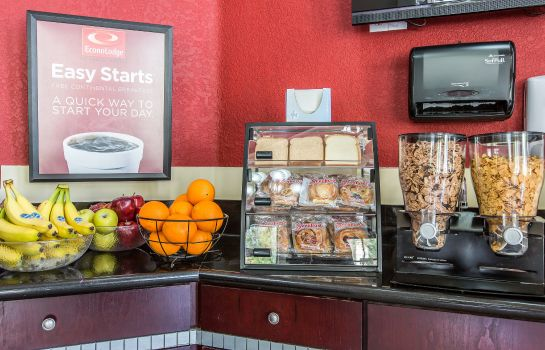 Restaurant Econo Lodge Inn and Suites Fallbrook Dow