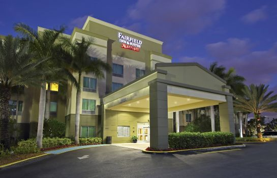Widok zewnętrzny Fairfield Inn & Suites Fort Lauderdale Airport & Cruise Port