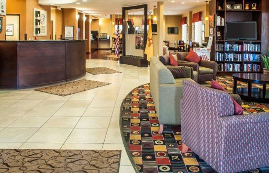 Vestíbulo del hotel Comfort Suites Gallup East Route 66 and