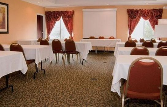 Conference room Comfort Suites Indianapolis