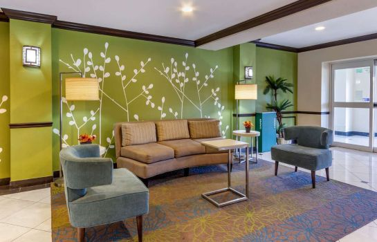 Lobby Sleep Inn and Suites Jacksonville