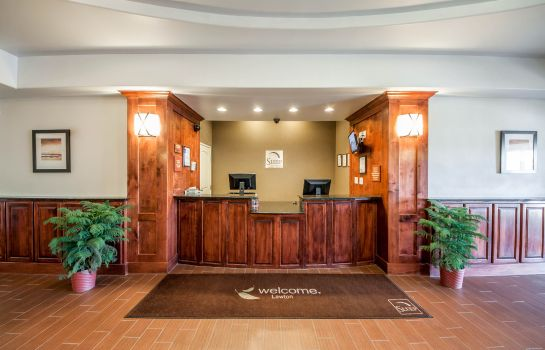 Lobby Sleep Inn & Suites Lawton