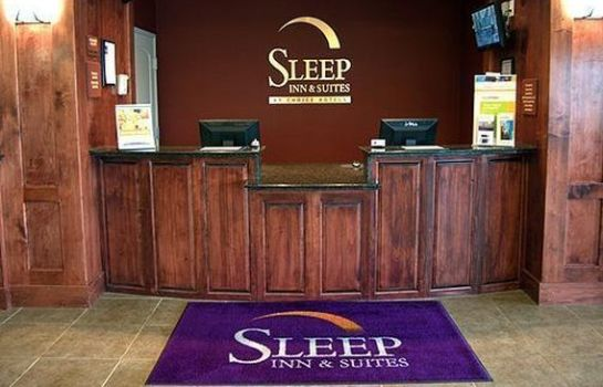 Hall de l'hôtel Sleep Inn & Suites Lawton