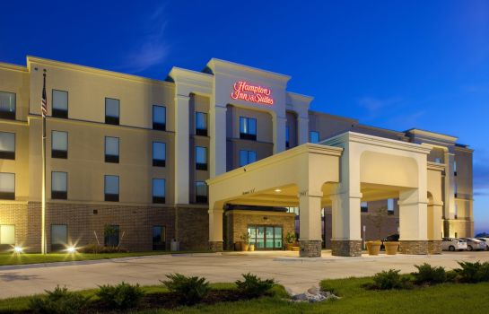 Außenansicht Hampton Inn - Suites Lincoln - Northeast I-80