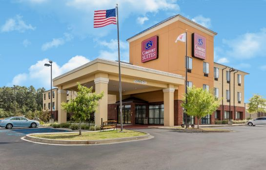 Vista esterna Comfort Suites Pell City