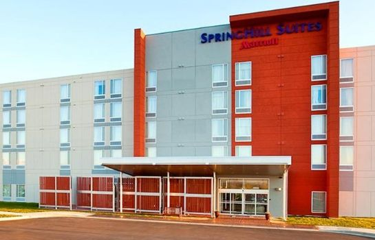 Außenansicht SpringHill Suites Salt Lake City Airport