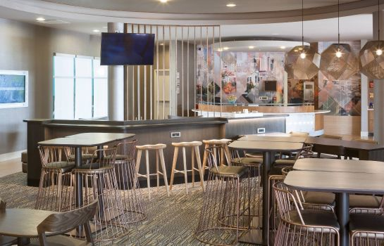 Hotelhalle SpringHill Suites Salt Lake City Airport