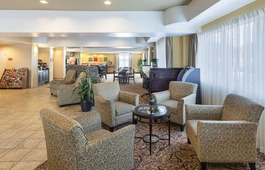 Hol hotelowy Comfort Suites Medical Center near Six Flags
