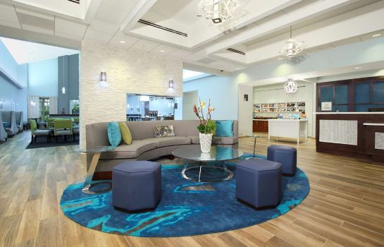 Vestíbulo del hotel Homewood Suites by Hilton Miami - Airport West