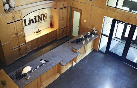 Recepción LivINN Hotel Minneapolis South / Burnsville