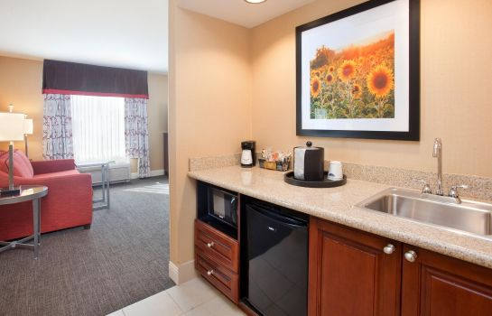 Hotel-Bar Hampton Inn - Suites Wichita-Northeast