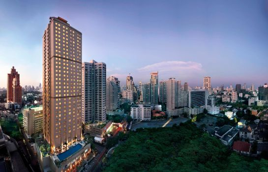 Exterior view Sukhumvit Park Bangkok - Marriott Executive Apartments