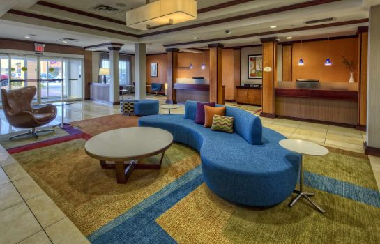 Hotelhalle Fairfield Inn & Suites Oklahoma City NW Expressway/Warr Acres