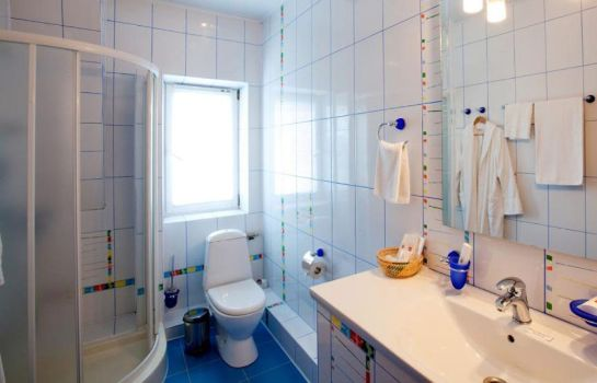Bagno in camera Emerald Hotel