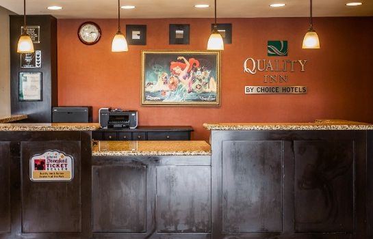 Widok wewnątrz Quality Inn & Suites Anaheim At The Park