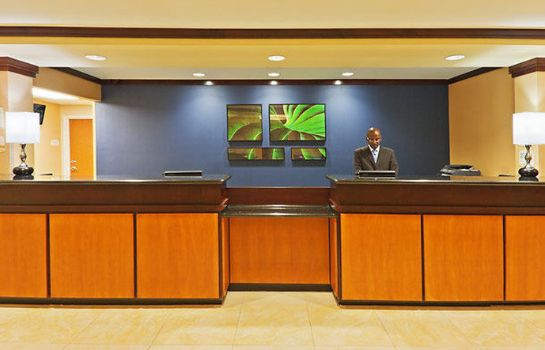 Hotelhalle Fairfield Inn & Suites Tulsa Southeast/Crossroads Village