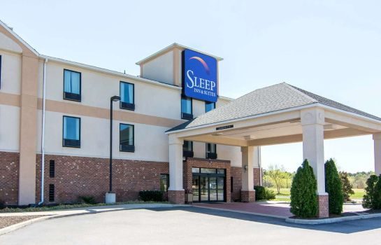 Außenansicht Sleep Inn & Suites At Fort Lee