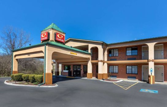 Vista esterna Econo Lodge Nashville