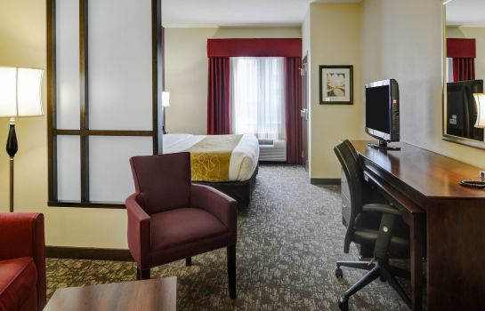 Suite Comfort Suites Little Rock West