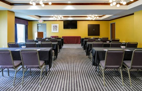 Conference room Comfort Suites Little Rock West