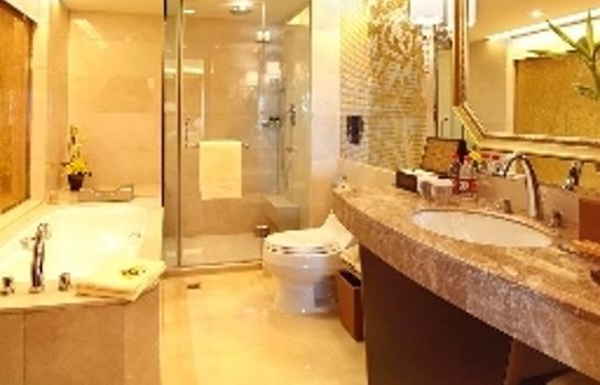 Bagno in camera Wyndham Grand Plaza Royale Hangzhou