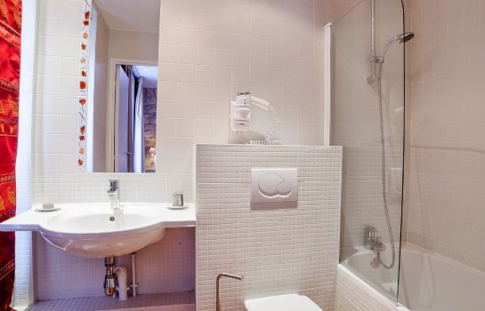 Bagno in camera Hotel Residence Quintinie