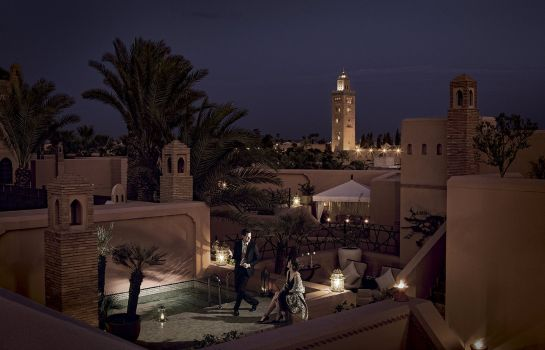 Exterior view Royal Mansour Marrakech