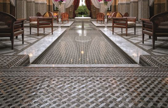 Hotelhalle Royal Mansour Marrakech