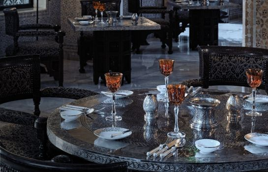 Restaurant Royal Mansour Marrakech