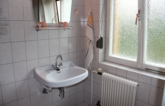 Badezimmer Pirker Pension