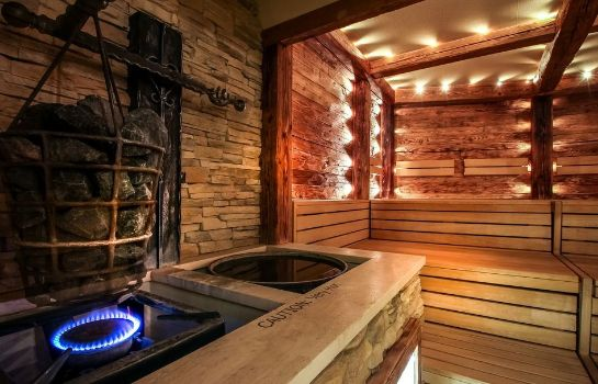 Sauna Sparkling Hill Wellness Resort and Spa