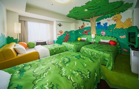 Four-bed room Hotel Kintetsu Universal City