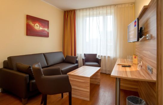 Suite Junior Star Inn Hotel Premium Bremen Columbus, by Quality