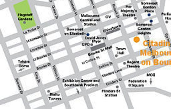 Info CITADINES ON BOURKE MELBOURNE