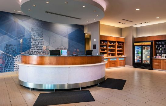 Hotelhalle SpringHill Suites Pittsburgh Southside Works