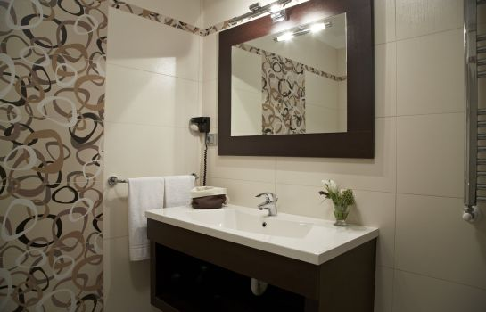 Bagno in camera Green Garden Resort