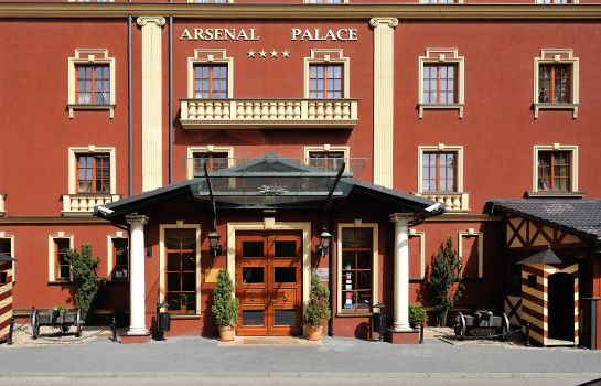 Exterior view Diament Arsenal Palace